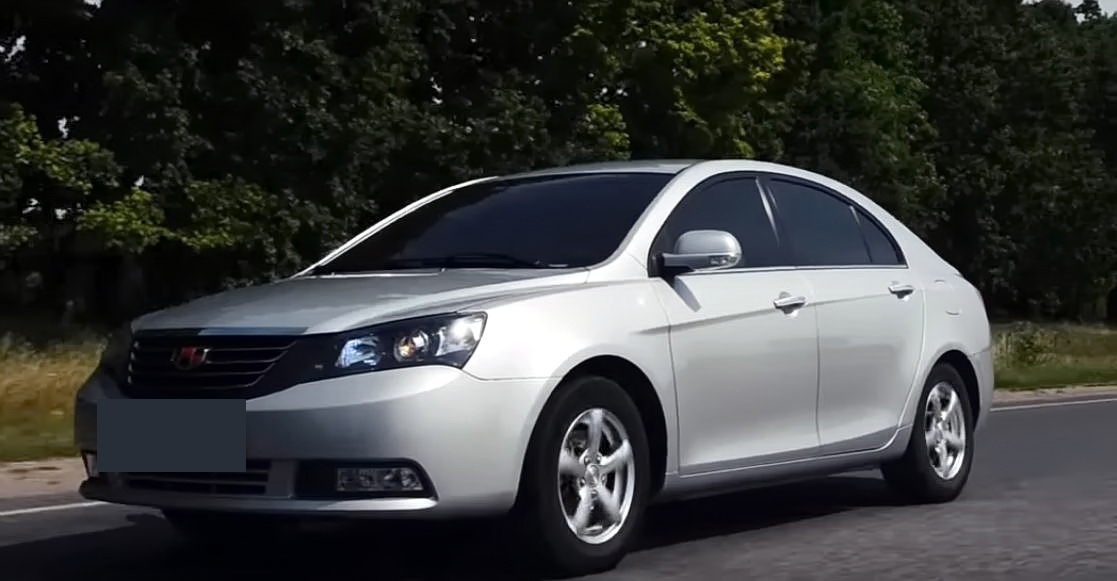Geely Emgrand 7 седан